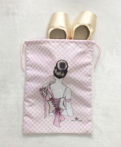 Porta sapatilhas Laçarote