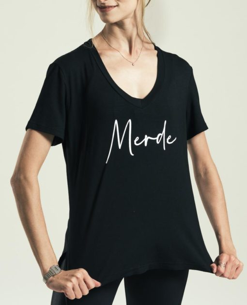 T-shirt merde