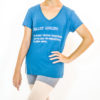 T-shirt gola V ballet adulto