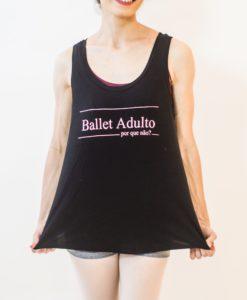 Regata ballet adulto. Por que não?