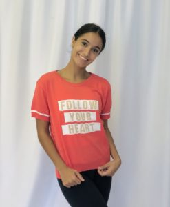 Blusa tricot Follow your heart