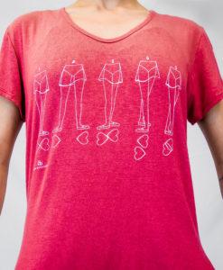 T-shirt 5 posições Ballet