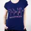 Blusa mullet Ballet and the City