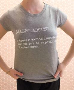 Blusa mullet Ballet adulto