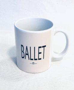 Caneca porcelana BALLET