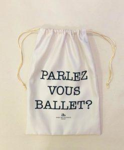 Porta Sapatilhas Parlez Vous Ballet?