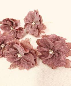 Grampo de coque flor (5 unidades)