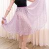 Saia ballet Lise crepe floral